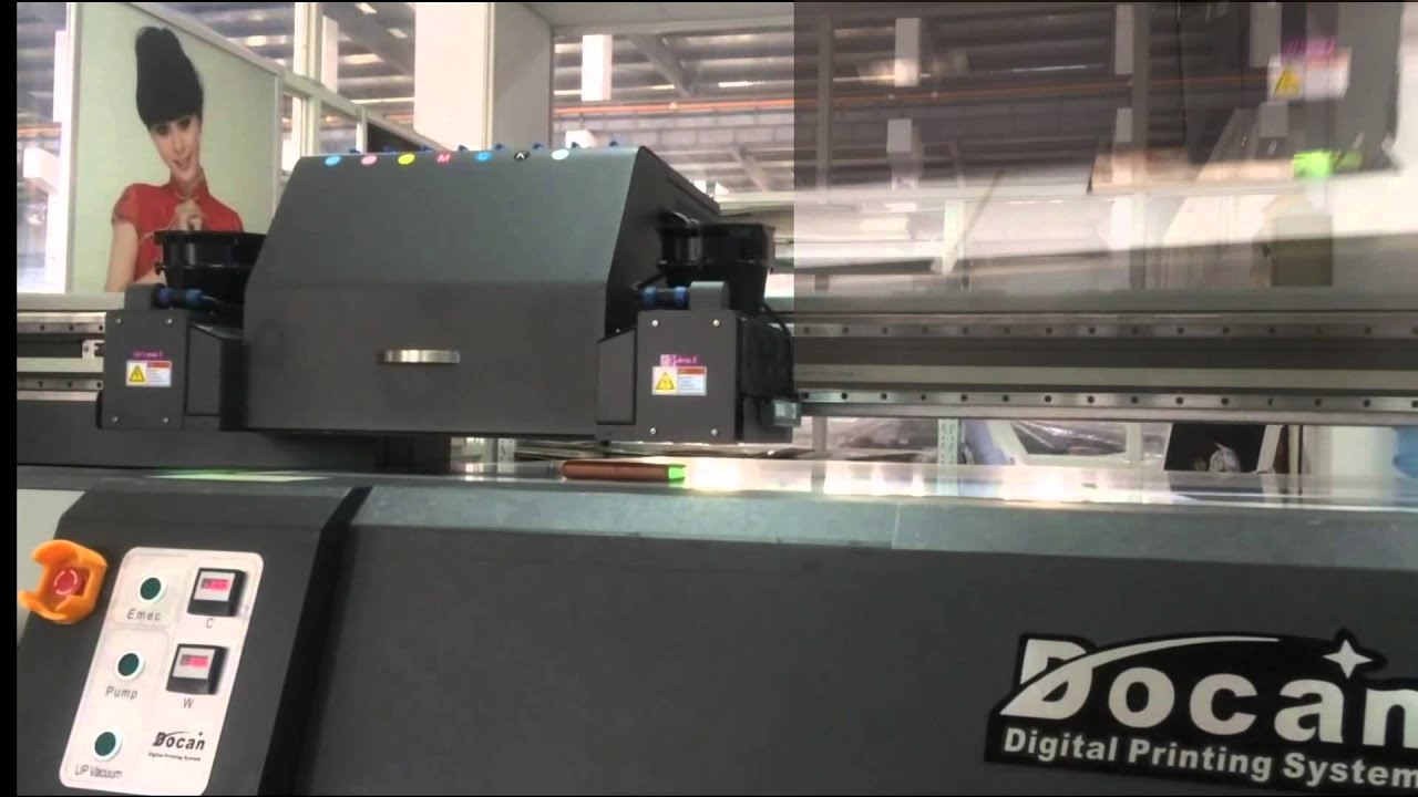 Docan Uv Flatbed Printer Doovi