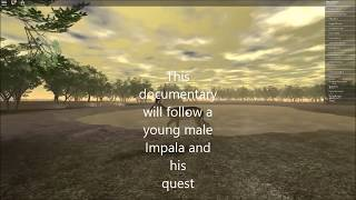 Roblox: Wild Savannah Impala Documentary