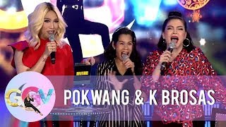 GGV: Vice Ganda predicts Pokwang marriage with her partner Lee O'Brian