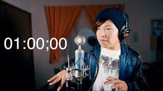 1 minute beatbox 3!!! / 1分間本気でビートボックスやってみた More bass