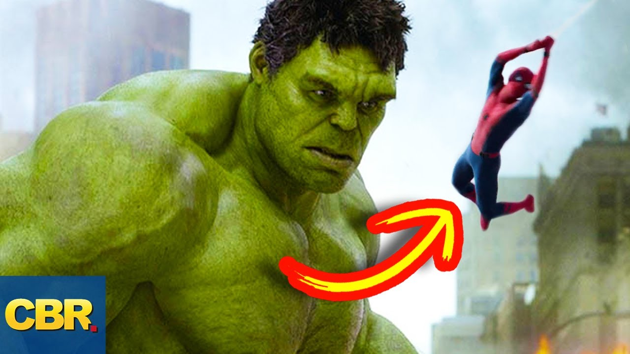 10 Things Spiderman and Hulk Actually Have In Common - YouTube