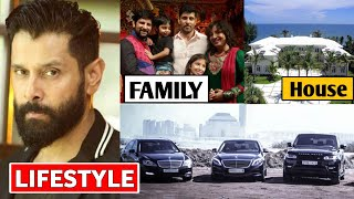 Vikram Lifestyle 2020, Income, House, Wife, Son, Daughter, Cars, Family, Biography & Net Worth