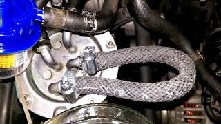 Чистка форсунок и замена топливного фильтра на дизеле VW 2.0