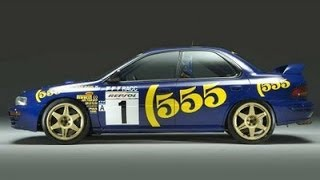 Subaru 555 World Rally Cars, одна из легендарных Субару серии 555!!
