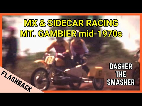 MOTOCROSS & SIDECAR RACING Mid 1970s - Mount Gambier, South Australia
