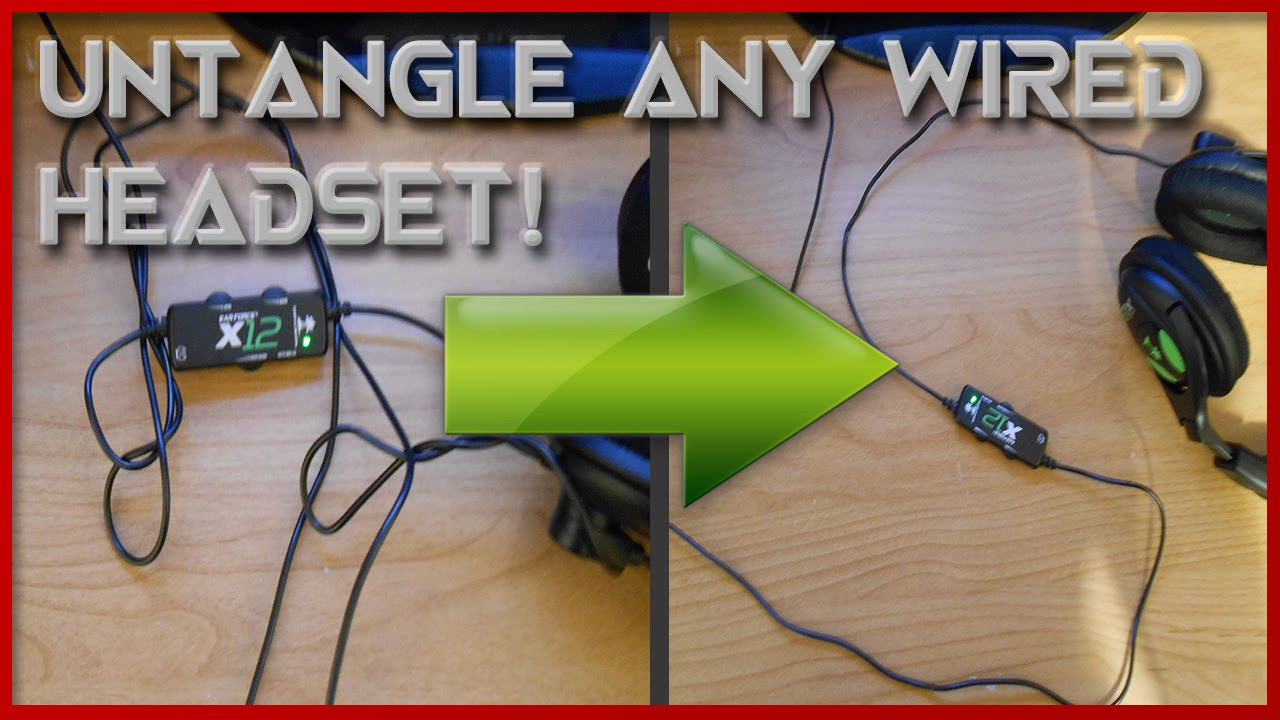 how to straighten mouse cord
