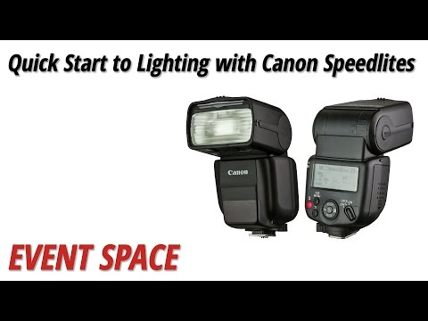 Quick Start to Lighting with Canon Speedlites with Syl Arena: Full Version