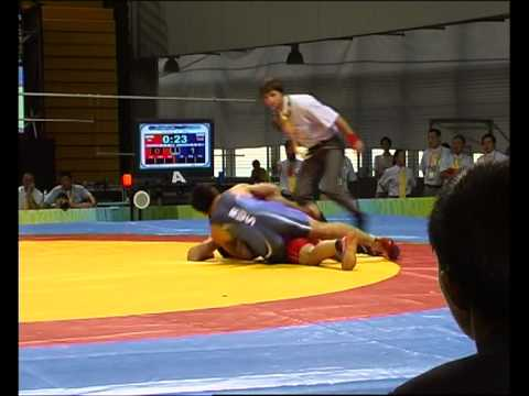 Russian Deaflympic Team. Freestyle Wrestling Цоктоев
