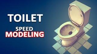 Gambar cover Autodesk Maya 2018 - Toilet Speed Modeling