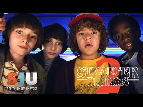 Stranger Things Season 2 Review Plus More! – SJU