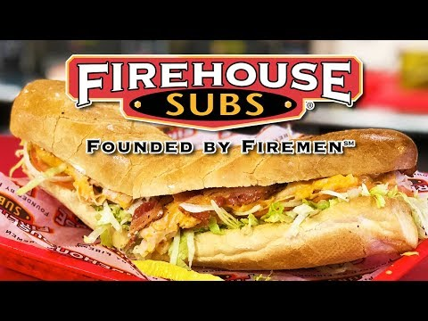 🔥 FIREHOUSE SUBS 🦃  Turkey Bacon Ranch 🔥 Hot Specialty Subs