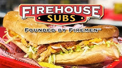  FIREHOUSE SUBS 旅  Turkey Bacon Ranch  Hot Specialty Subs