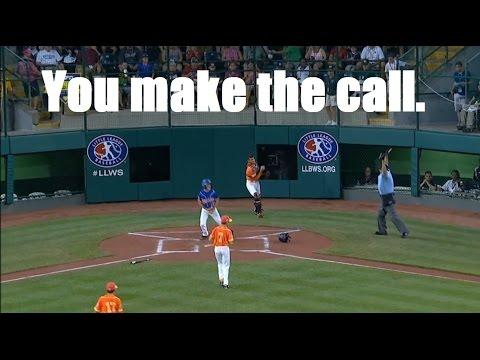 Odd rule call for LLWS  - dead ballhow many bases umpire?