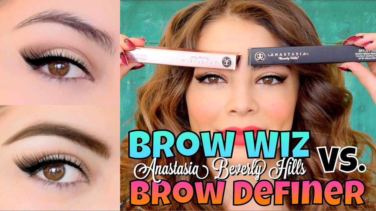 Anastasia beverly hills brow wiz vs brow definer eyebrow anastasia beverly hills brow wiz vs brow definer eyebrow tutorial mikayla snow baditri Images