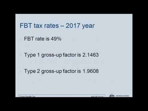 2017 FBT Compliance Update with the ATO