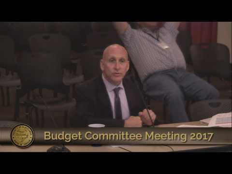 Emergency Communications Budget Presentation 2017