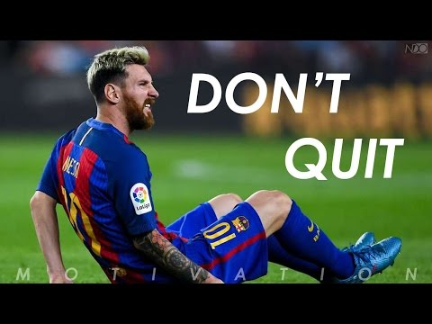 DON'T QUIT, IT'S POSSIBLE !  Football Motivation  Inspirational Video  Nihaldinho