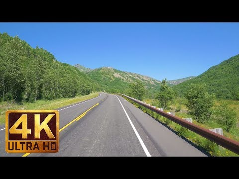 Scenic Drive in 4K (Ultra HD) with Music - Spirit Lake HWY-Coldwater Lake, Mt. St.Helens - 5 HRS