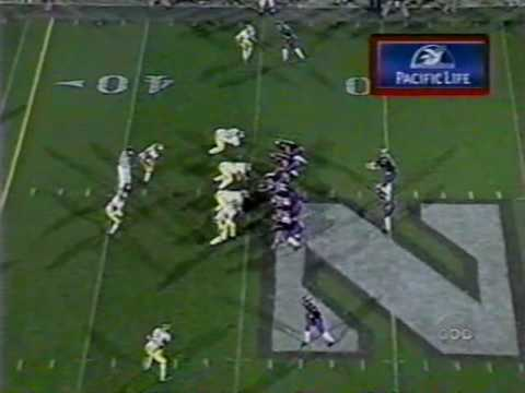 Northwestern Wildcats vs. Michigan Wolverines - 11/4/00