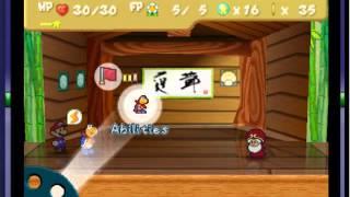 Paper Mario (E) - Paper Mario (E) (N64 / Nintendo 64) -Volt Shroom/Power Shell Moves- Vizzed.com GamePlay - User video