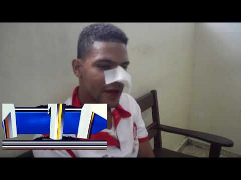 Agentes de AMET golpean a motorista que se resiste ser apresado en SFM