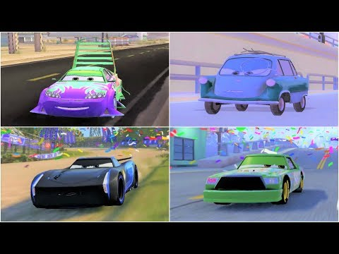 Cars 1 - Cars 2 - Cars 3 All Bosses Gameplay Compilation HD