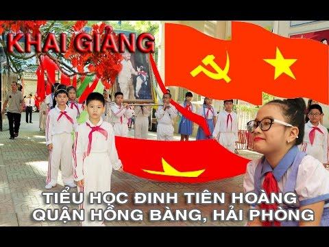 Khai giảng năm học 2014-2015 trường Tiểu học Đinh Tiên Hoàng, Hải Phòng.