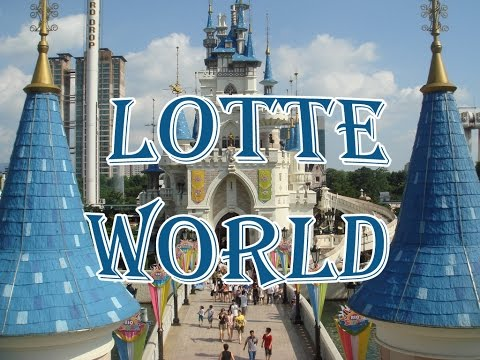 Traveling l Trip to Seoul, South Korea - Lotte World (롯데월드), Theme Park (테마파크)