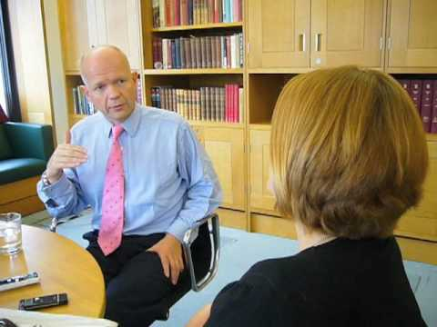 William Hague talks exclusively to the Sunday Express