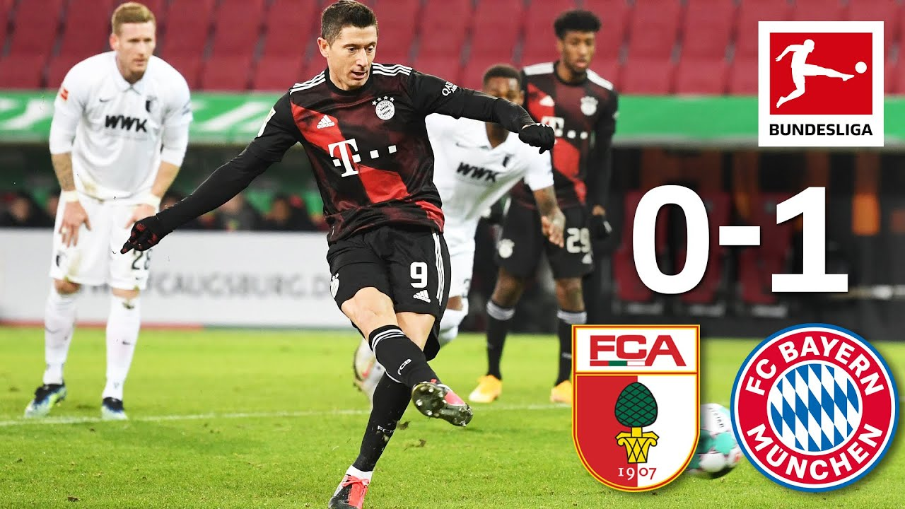 Download Lewandowski Secures First Place | FC Augsburg - FC Bayern München | 0-1 | Highlights | MD 17