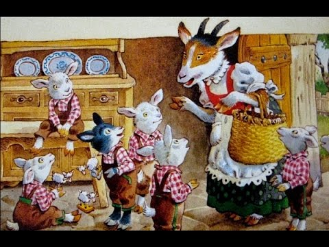 El conte de les set cabretes i el Llop - Només Babys