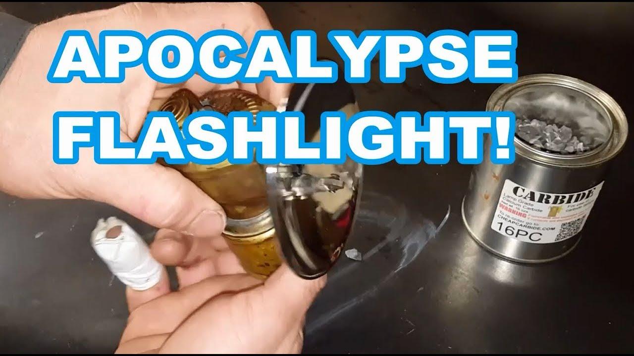DEMO Just Rite Calcium Carbide lamp (Miners lamp) - YouTube for Calcium Carbide Lamp  557ylc