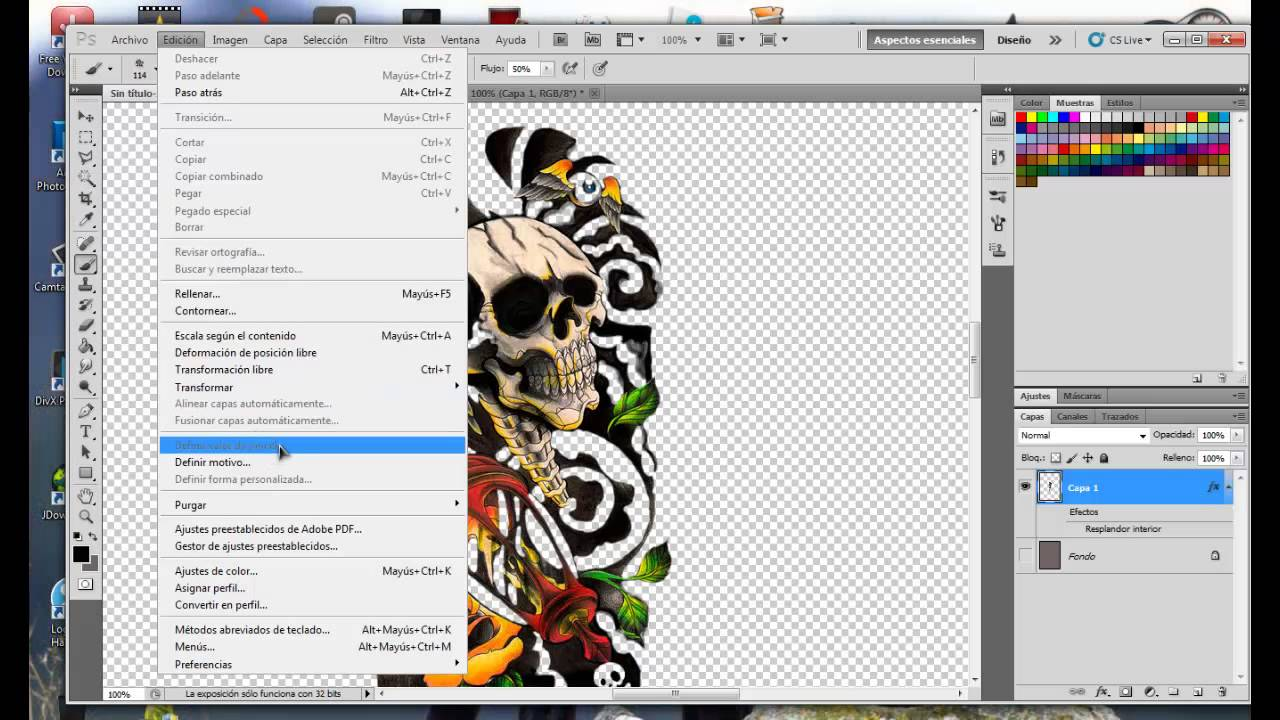 como crear tatuajes para second life create tattoos for second life youtube