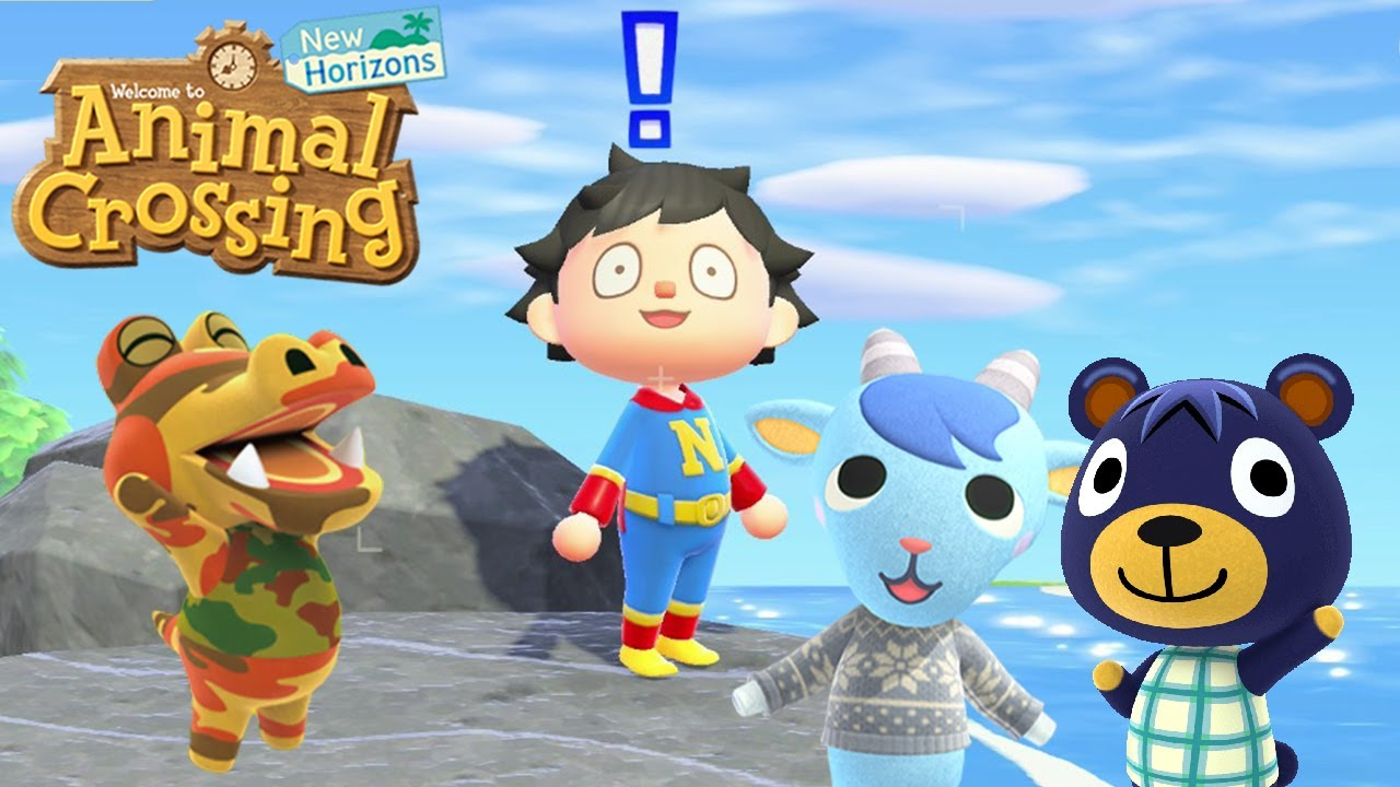 The Cutest Boy Villagers Animal Crossing New Horizons Youtube