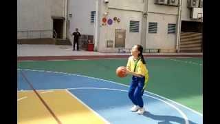 2011-12 藍田循道衛理小學女子籃球隊練波剪影 1