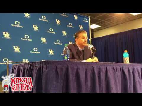 John Calipari post Vermont