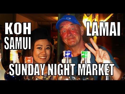 THE BEST NIGHT MARKET ON KOH SAMUI ISLAND THAILAND