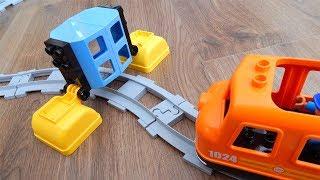 Поезда Мультики про Машинки Игрушки Город машинок 293 Сюрприз на дороге Мультфильмы Лего для детей