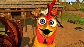 El Gallo Pinto - Canciones Infantiles de la Granja