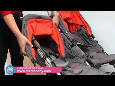 MacroBaby - Bumbleride Indie Twin Stroller