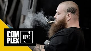 connectYoutube - Action Bronson Splits With Atlantic Records and Announces 'White Bronco' Mixtape