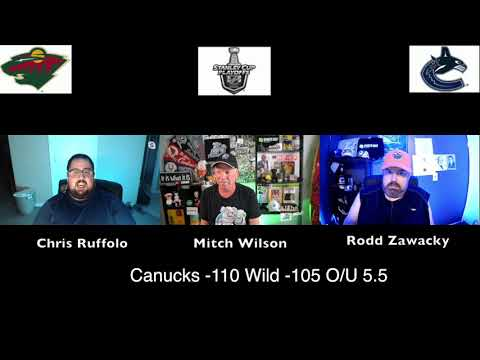 Vancouver Canucks vs Minnesota Wild 8/2/20 NHL Pick and Prediction Stanley Cup Playoffs