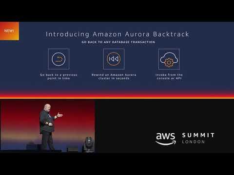 AWS Summit London 2018: Amazon Aurora Backtrack