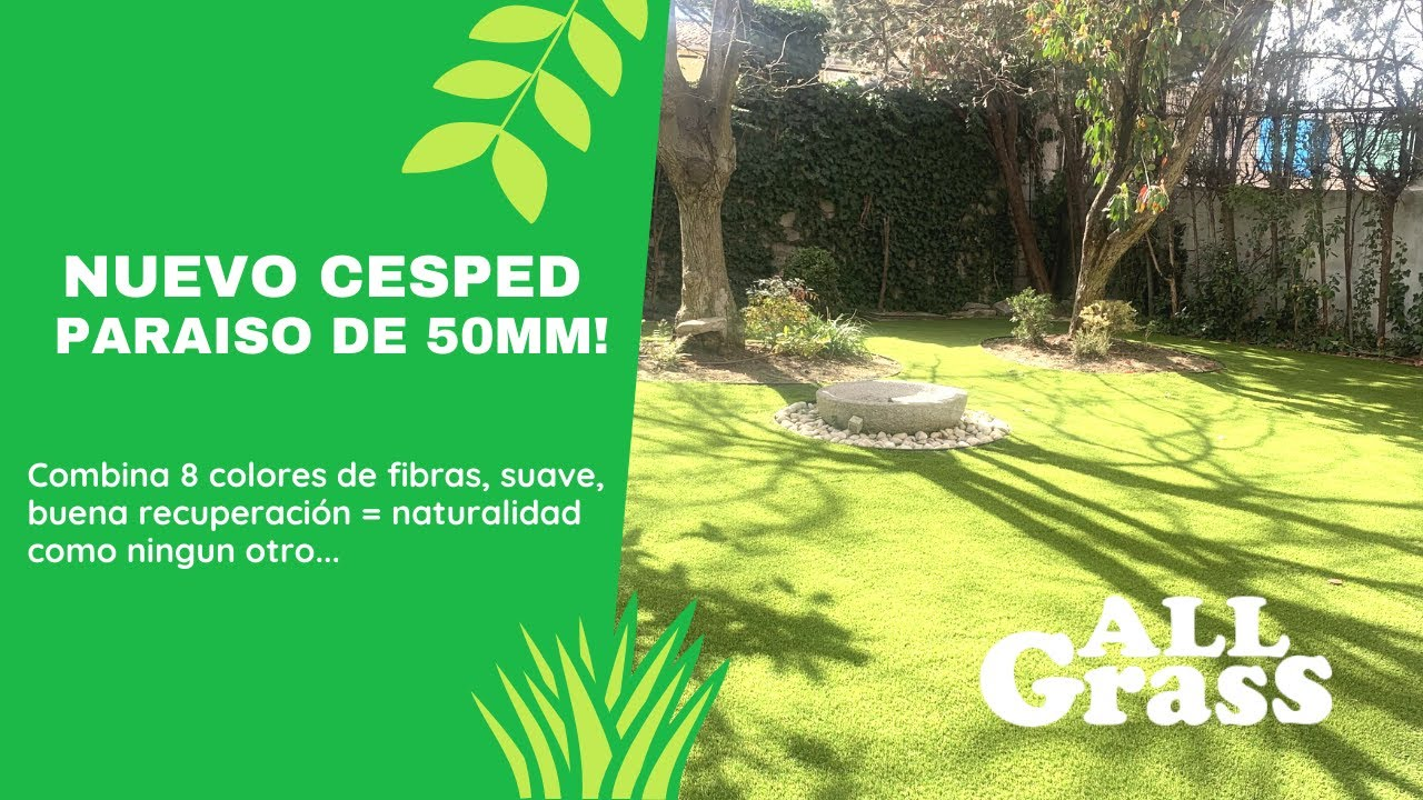 C sped artificial paraiso extra de tarkett floors youtube - Cesped artificial tarkett ...