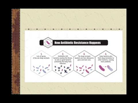 Antibiotic Resistance video lecture 2017