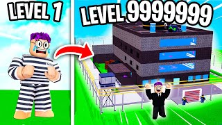 Can We Build A MAX LEVEL PRISON In ROBLOX?! (LEVEL 999 UNLOCKED!)