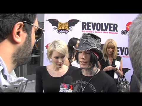 Dj Ashba (Guns N Roses, Sixx AM) Interview at the Revolver Golden Gods 2011 on Metal Injection
