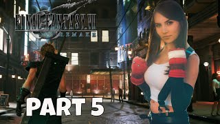 Tifa Plays FFVII Remake Gameplay Highlights Pt 5 - Hand Massages & Hell House
