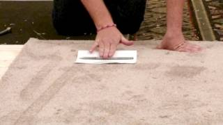 The Paper Test: How to find Carpet Pile Direction