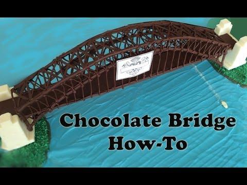 Chocolate Sydney Harbour Bridge Australia Day Fireworks HOW TO COOK THAT Ann Reardon